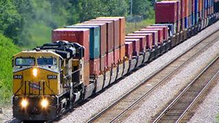 Vận chuyển container bằng đường sắt